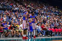 Basketbalová exhibice Harlem Globetrotters – New York Nationals se konala 4. června v Ostravě.
