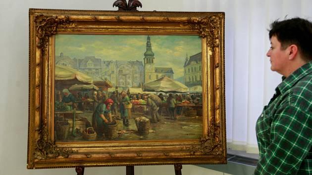 Ostrava ve výtvarném umění ve Výtvarném centru Chagall.