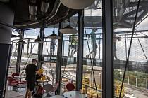 Bolt Café v areálu Dolní oblasti Vítkovice, 11. srpna 2021.