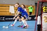 1.zápas čtvrtfinále play-off extraligy žen: 1. SC TEMPISH Vítkovice - FBS Olomouc, 10. dubna 2021 v Ostravě.