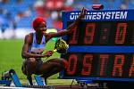 Atletický mítink IAAF World Challenge Zlatá tretra v Ostravě 20. června 2019. Na snímku Shaunae Miller-Uibo z (BAH).