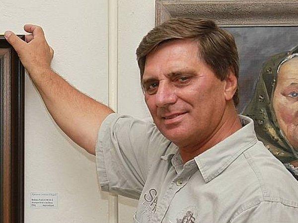 Petr Pavliňák, ředitel Výtvarného centra Chagall, galerista, výtvarník