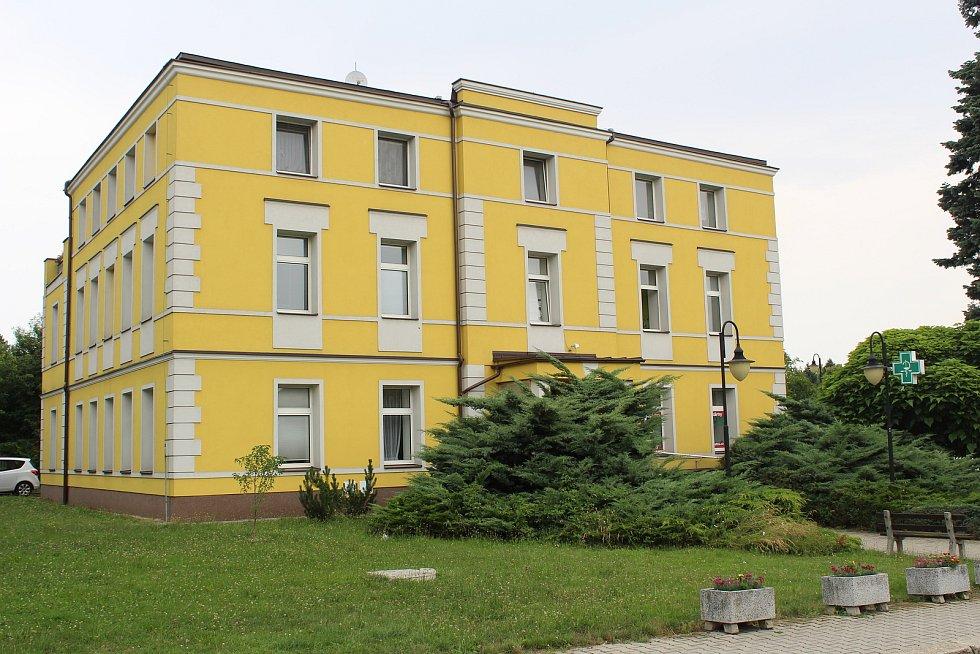 Zdravotní středisko v Třebovicích.