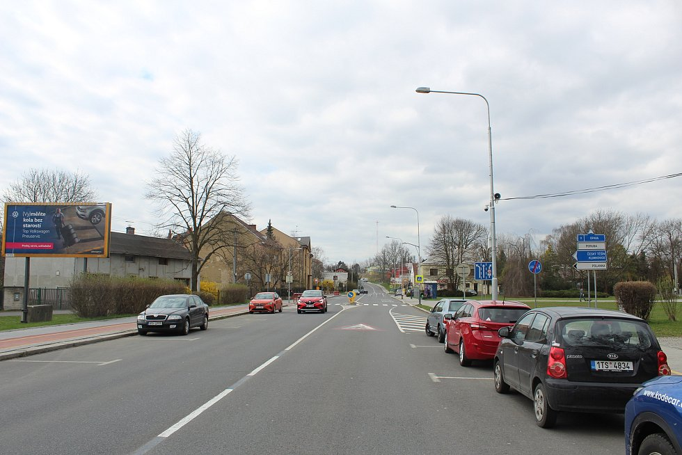 Bílovecká ulice.