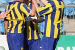 Z fotbalového zápasul II. ligy -  Slezský FC Opava - FC Vítkovice 3:0
