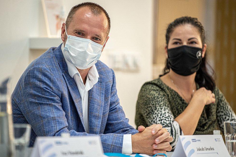 Debata Deníku, 25. září 2020 v Ostravě. Jakub Unucka (ODS).
