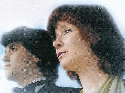 Booklet cédéčka vynikajících ruských klavíristů Iriny Silivanovové a Maxima Puryžinského.