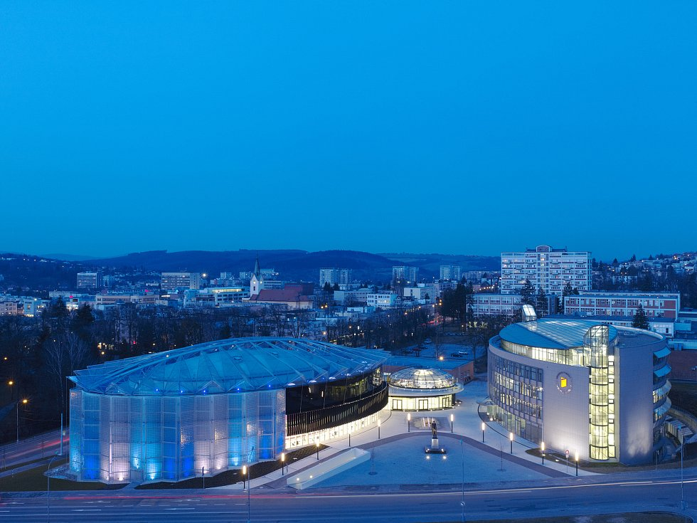Kongresové centrum Zlín. Vizualizace: AI Design