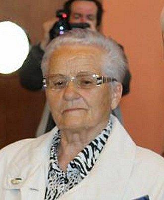 Účastnice 2.světové války Jarmila Pösslová.