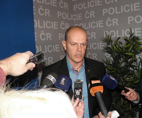 Ozadržení kurýrních lupičů vpátek informoval zástupce ředitele moravskoslezské policie Radim Wita.