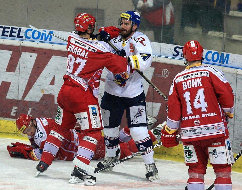 Utkání HC Vítkovice Steel - HC Oceláři Třinec