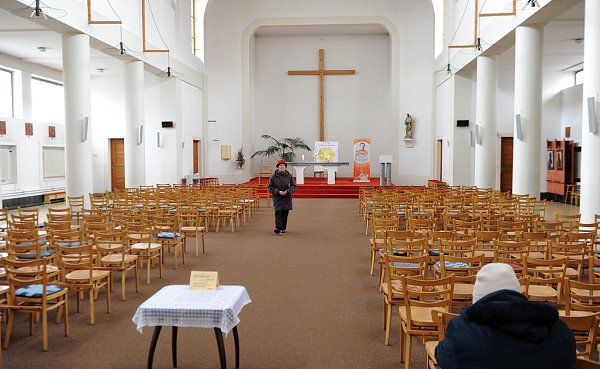 Do akce 24hodin pro Pána se vOstravě zapojil rektorátní kostel svatého Josefa vOstravě (Don Bosco).