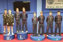 Adam Štalzer z TJ Ostrava KST vyhrál čtyřhru juniorů společně s Ondřejem Květonem.