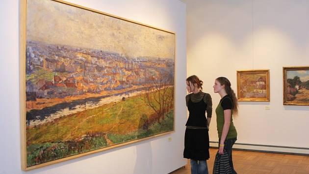 Z výstavy Sváry zření, která má v Domě umění velkou návštěvnost.