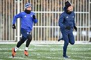 Zimní příprava FC Baníku Ostrava, 3. ledna 2019 v Ostravě.