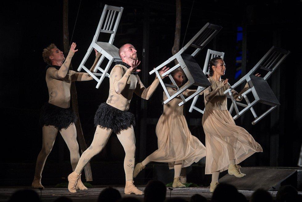 Letní shakespearovy slavnosti (LLS) - sen noci svatojánské, 6. srpna 2018 v Ostravě.