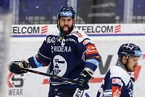 Utkání 9. kola hokejové extraligy: HC Vítkovice Ridera - HC Škoda Plzeň, 4. října 2020 v Ostravě. Roman Polák z Vítkovic.