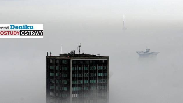 68 metrů je výška prvního a prozatím i posledního ostravského mrakodrapu v Ostrčilově ulici v centru města.