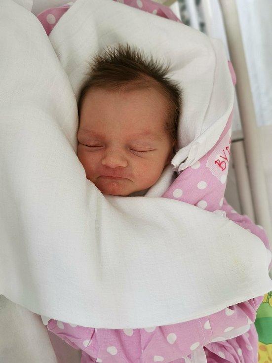 Alice Byrtusová, Mosty u Jablunkova, narozena 25. března 2021, míra 49 cm, váha 2740 g Foto: se souhlasem rodiny