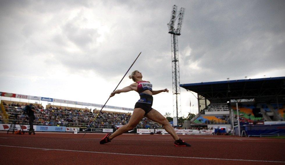 Zlatá tretra Ostrava 2014. Nikola Ogrodníková.