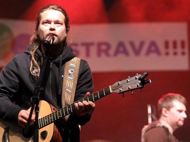 Richard Krajčo, frontman kapely Kryštof. Ilustrační foto.