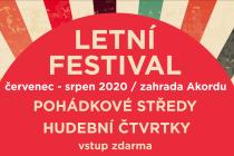 Letní festival v Akordu nabídne pohádky i koncerty