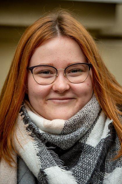 Anketa - Zubař, 31.ledna 2020vOstravě. Na snímku Alena Calábková.