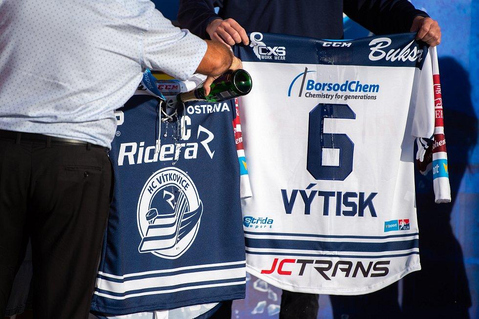 Otevření sezony HC Vítkovice v areálu Ridera Sport ve Vítkovicích, 10. zaří 2019 v Ostravě.