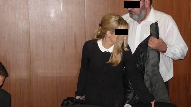 Manželé Tomáš a Blanka G. v úterý stanuli před soudem.