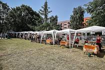Pátý ročník soutěže ve vaření polévky v Centru sociálních služeb Armády spásy v Ostravě-Fifejdách.