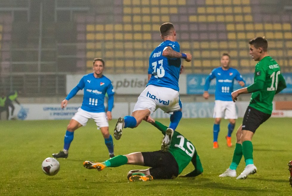 Příbram prohrála doma s Baníkem Ostrava 0:4
