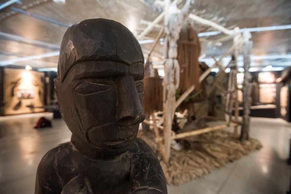 Tajemná Indonésie - výstava ve Světě techniky v Dolních Vítkovicích.