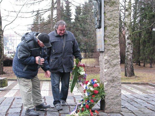 Památník vulici 8.pěšího pluku ve Frýdku-Místku.