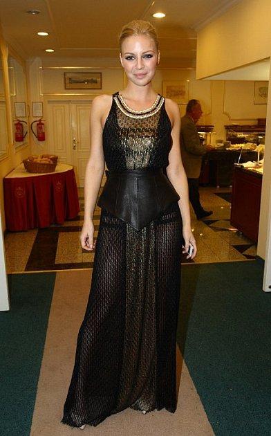 Jedna znašich současných nejpopulárnějších popových zpěvaček Markéta Konvičková.