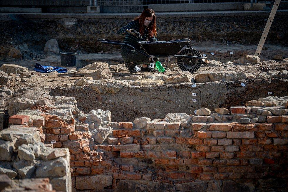 Archeologický výzkum Nové Lauby v centru Ostravy odhalil středověké nálezy. Ilustrační foto.