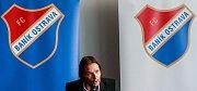 Tisková konference fotbalového klubu FC Baník Ostrava, na snímku Marek jankulovski