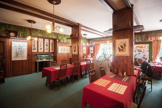 Bývala restaurace Schonthal, dnes Osaka, vOstravě-Vítkovicích.
