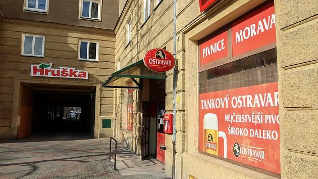 Pivnice Morava v Porubě.