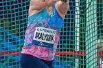 Zlatá tretra Ostrava 2018. Hammer throw, kladivo ženy, Hanna Malyshik.