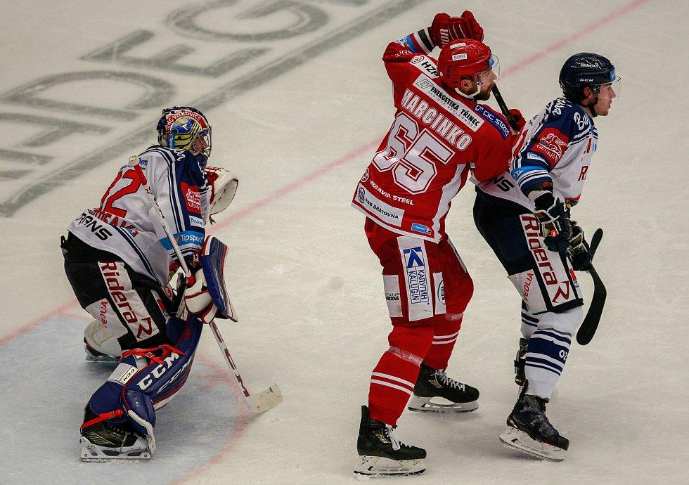 zleva Patrik Bartošák, Tomáš Marcinko, Lukáš Klok