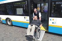 Nový nízkopodlažní trolejbus
