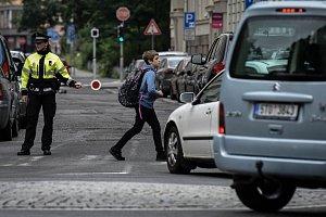 Kontroly u přechodů pro chodce