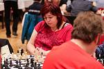 Šachový Ostravský koník, 1. května 2019 v Ostravě. Na snímku Irena Badáčová.