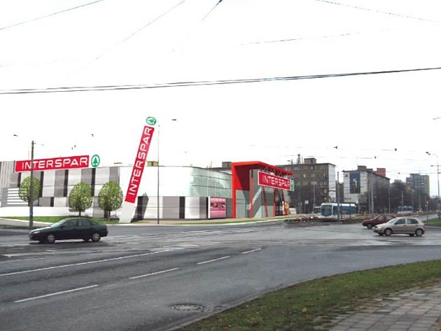 Návrh nového hypermarketu