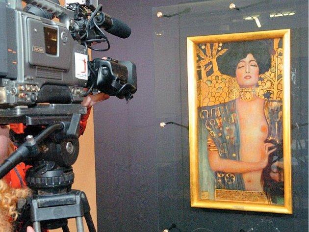 JUDITA GUSTAVA KLIMTA patří k nejznámějším skvostům ostravského Domu umění.