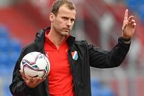 Trenér fotbalistů Baníku Ostrava Ondřej Smetana.