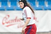 Daniela Ferugová v dresu národního týmu.