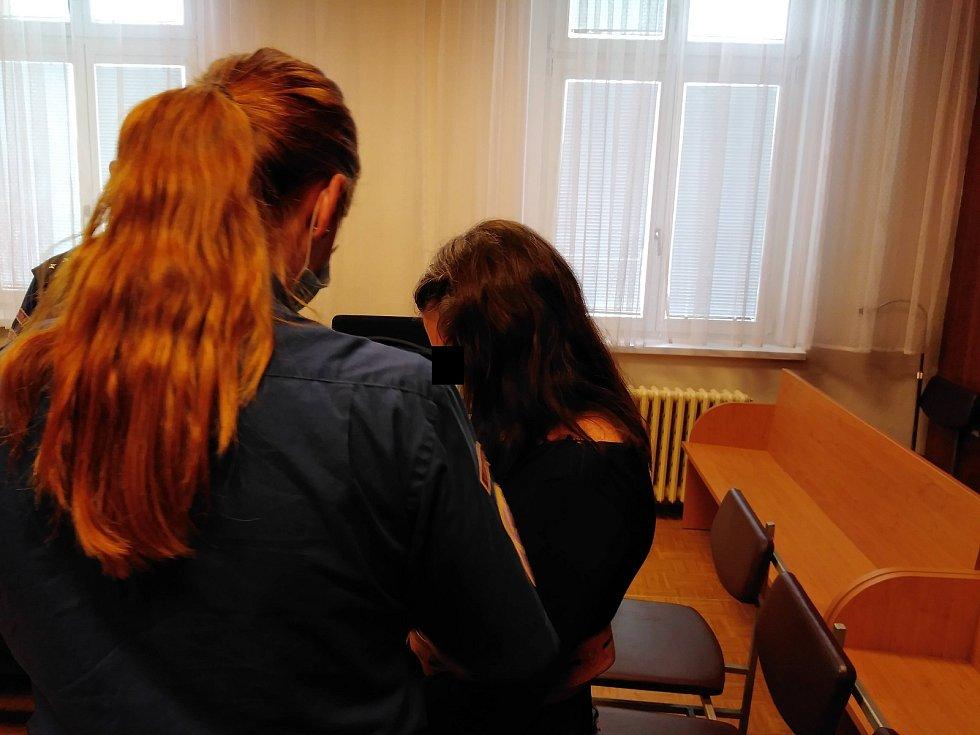 Soud v Ostravě ženě za vraždu novorozence v Karviné uložil sedmnáct let.