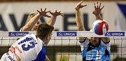 Z vítězství v tomto ročníku extraligy se volejbalisté VK Ostrava radovali podruhé, ale poprvé na domácí palubovce. V sobotu na ní porazili Benátky nad Jizerou 3:0.