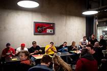Soutěž v pojídání chilli v Punk food, 20. února 2019 v Ostravě.
